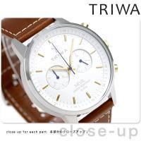 トリワ ネビル スノー 42mm クロノグラフ ユニセックス 腕時計 NEST115-SC01021...