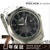 7年保証キャンペーン ポリス スクアドロン クオーツ メンズ 腕時計 PL14380JSU-03M ...