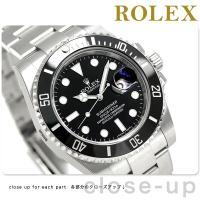 ロレックス サブマリーナー デイト 40mm スイス製 ダイバーズウォッチ 自動巻き メンズ 腕時計...