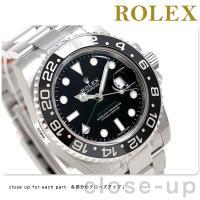 ロレックス GMTマスター 2 40mm スイス製 GMT 自動巻き メンズ 腕時計 RX11671...