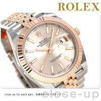 ロレックス デイトジャスト 41mm スイス製 ジュビリーブレスレット 自動巻き メンズ 腕時計 R...