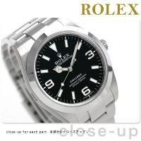 ロレックス エクスプローラー 39mm スイス製 自動巻き メンズ 腕時計 RX214270 ROL...