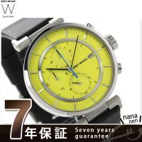 正規品 7年保証キャンペーン イッセイ ミヤケ ダブリュ クロノグラフ メンズ 腕時計 SILAY0...