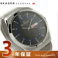 3年保証キャンペーン スカーゲン メルビ デイデイト メンズ 腕時計 SKW6178 SKAGEN ...