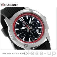 オリエント 逆輸入 海外モデル 日本製 クロノグラフ クオーツ メンズ 腕時計 STW01006B0...