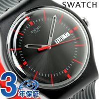 スウォッチ オリジナル ニュー ジェント ガエット クオーツ ユニセックス 腕時計 SUOB714 ...