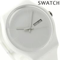Swatch スウォッチ スイス製 腕時計 ニュージェント ホワイト・レーベル SUOW701 SW...