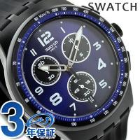スウォッチ オリジナル クロノ プラスチック ナイト スピード クロノグラフ メンズ 腕時計 SUS...