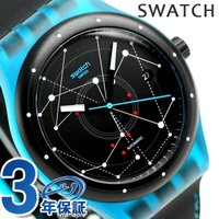 スウォッチ オリジナルス システム51 システム・ブルー 42mm スイス製 自動巻き メンズ 腕時...