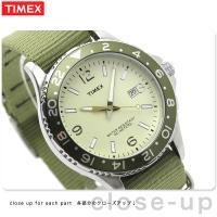 正規品 タイメックス 腕時計 スタイル カレイドスコープ ベージュ×オリーブナイロン TIMEX T...