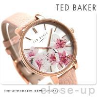 テッドベーカー ケイト 38mm 花柄 クオーツ レディース 腕時計 TE50272004 TED ...