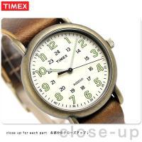 正規品 タイメックス ウィークエンダー ヴィンテージ 40mm クオーツ メンズ 腕時計 TW2P8...