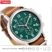正規品 タイメックス ウィークエンダー 40mm クロノグラフ クオーツ メンズ 腕時計 TW2P9...