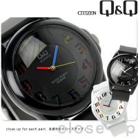 シチズン Q&Q キュー&キュー カラーウォッチ クオーツ 腕時計 VR46 CITIZEN COL...