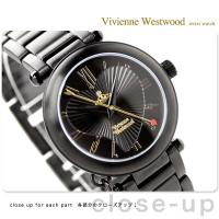 ヴィヴィアン・ウエストウッド 腕時計 レディース オーブ オールブラック Vivienne West...