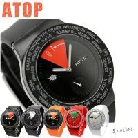 エートップ 腕時計 ワールドタイム ラバーベルト ATOP VWA ATOP(エートップ)は1984...