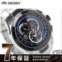 正規品 7年保証キャンペーン 送料無料 オリエント 腕時計 メンズ ERS スピードテック クロノグ...