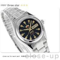 オリエント 逆輸入 海外モデル スリースター 自動巻き レディース 腕時計 WV0061NQ ORI...