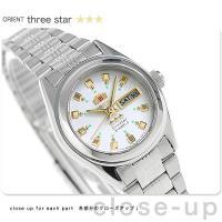 オリエント 逆輸入 海外モデル スリースター 自動巻き レディース 腕時計 WV0261NQ ORI...