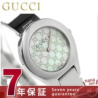 7年保証キャンペーン グッチ 時計 レディース 6700 ホワイトシェル GUCCI YA06750...