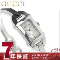 7年保証キャンペーン グッチ 時計 レディース 6800 ホワイトシェル GUCCI YA06858...