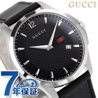 7年保証 ローン24回払まで無金利キャンペーン グッチ Gタイムレス スリム メンズ 腕時計 YA1...