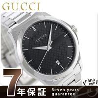 7年保証キャンペーン グッチ Gタイムレス 40mm スイス製 クオーツ メンズ 腕時計 YA126...