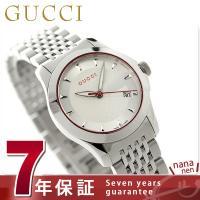 7年保証 ローン24回払まで無金利キャンペーン グッチ Gタイムレス レディース 腕時計 YA126...