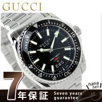 7年保証キャンペーン グッチ ダイヴ メンズ 腕時計 YA136301 GUCCI DIVE アナロ...