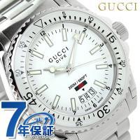 7年保証キャンペーン グッチ ダイヴ メンズ 腕時計 YA136302 GUCCI DIVE アナロ...