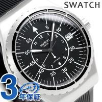 スウォッチ アイロニー システム51 システム アロー 42mm スイス製 自動巻き メンズ 腕時計...