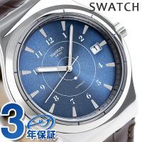 スウォッチ アイロニー システム51 システム フライ 42mm スイス製 自動巻き メンズ 腕時計...