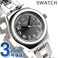 スウォッチ アイロニーレイディレイディ レディース スイス製 腕時計 シルバー×ホワイト Swatc...