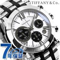 7年保証キャンペーン ティファニー アトラス ジェント クロノ 42mm 自動巻き 腕時計 Z100...