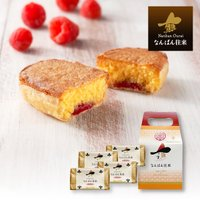 福岡土産 焼き菓子 ギフト なんばん往来ラズベリー味4個入 スイーツ