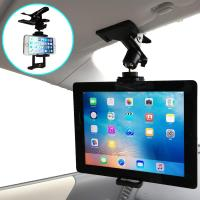 Nanmara 車載用 iPad タブレット クリップ ホルダー (タブレット&スマホ用)