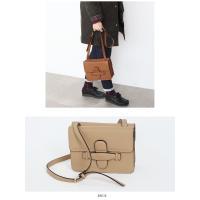 斜めがけバッグ レディース ショルダーバッグ 斜め掛けバッグ ミニ マザーズバッグ バック 鞄◎DoS9001 シンメトリーカールダブルバッグ(PU)[4COLOR]