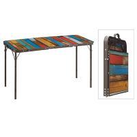 アウトドアテーブル ロゴス グランベーシック 丸洗い3FDスリムテーブル