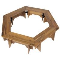 アウトドアテーブル キャプテンスタッグ CSクラシックス ヘキサグリルテーブルセット(137)