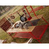 アウトドアテーブル NATURE TONES ダイニングテーブル ラージ オプションハンガー(ハンガーのみ) レッド