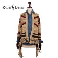 【SALE】【LAUREN JEANS by Ralph Lauren】 ラルフローレン ローレンジーンズ ネイティブ柄 ラップカーディガンセーター