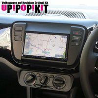 2012年10月に日本でも発売となったフォルクスワーゲンUP!および、クロスUP!に市販2DIN一体...