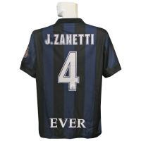 13-14年インテルホームの半袖 サネッティ引退試合モデルです。