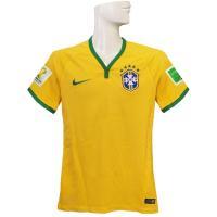 ナイキ/2014ブラジル代表/オーセンティック/ホーム 半袖です。