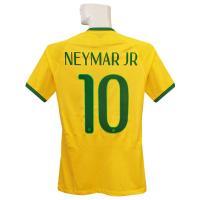 ***限定再入荷*** 2014ブラジル代表ホームのオーセンティック ネイマール半袖シャツです。