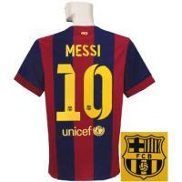 ***限定入荷*** 14-15バルセロナ/ホームの半袖 メッシです。