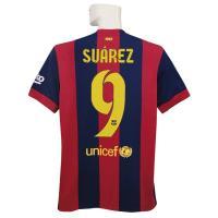 ***限定入荷*** 14-15バルセロナ/ホームの半袖 スアレスです。