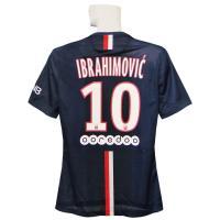 14-15年パリサンジェルマン オーセンティックホームの半袖 イブラヒモビッチです。