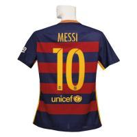 15-16年バルセロナ/オーセンティック/ホームのメッシ半袖シャツです。