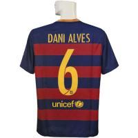 15-16年バルセロナ/チャンピオンズリーグ/ホーム 半袖/アウベスです。